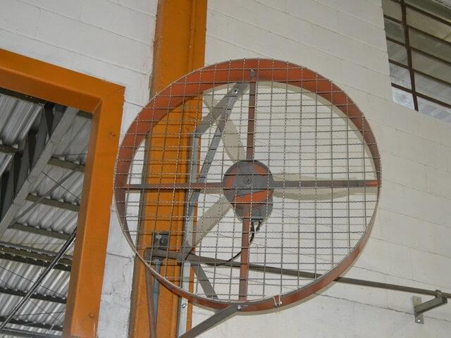 Ventilador Alta Potência Industrial de Parede