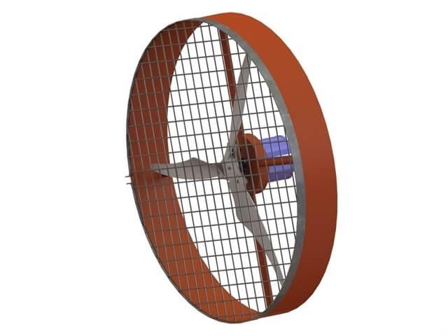 Ventilador Gigante Industrial