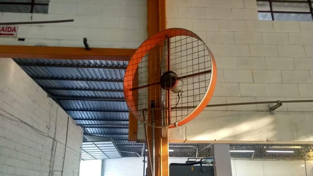 Ventilador Industrial para Galpões