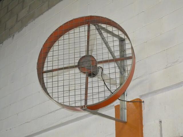 Ventilador Modelo Tufão De Parede Industrial Tamanho 1m
