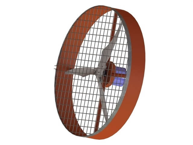 Ventilador Novo Para Granjas De Aves 1m Grande Potência