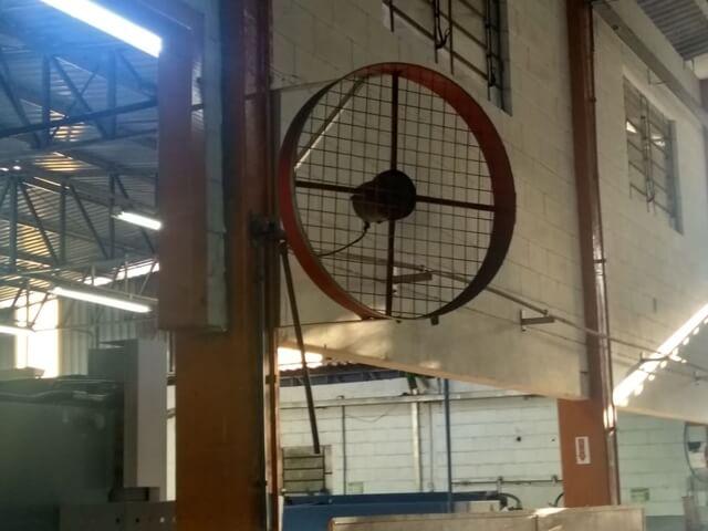 Ventilador Tufão Parede Industrial Grande 100cm