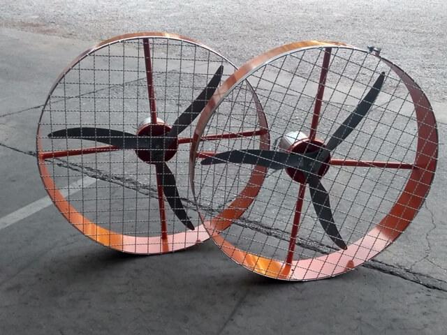 Ventiladores Industriais de Parede Turbo
