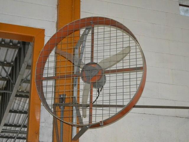 Ventilador de Parede Industrial 100cm