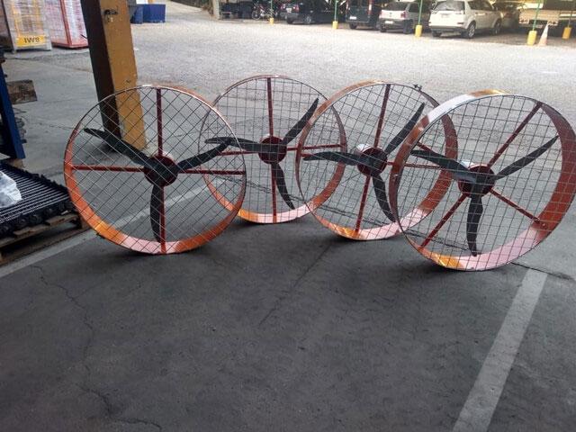 Ventiladores Tufão de Parede